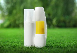 exterminator products on grass